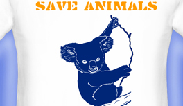 Save Animals T-Shirts, Tierwelt, Delphin, Koala, Giraffe, Braunbär, Löwe T-Shirt, designed by Kekeye