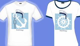 Die neueste Kreuzfahrten, Kreuzfahrt Design T-Shirt Kollektion im Marine Look! Anker T-Shirt, Ruder T-Shirt, Seepferd T-Shirt und Seestern T-Shirt.