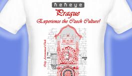 Prag, Praha, Prague T-Shirt, designed by Kekeye