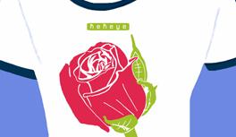 Blumen, Flowers T-Shirt Kollektion designed by Kekeye: Seerose T-Shirt, Gerbera T-Shirt, Lilie T-Shirt, Rose T-Shirt.