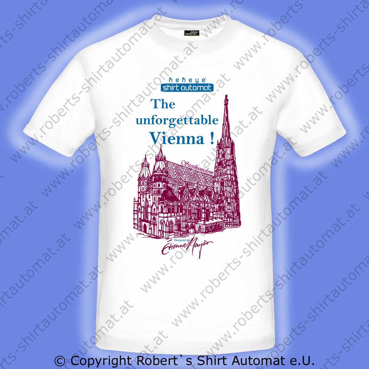Wien, Vienna T-Shirt Premium Kollektion NEU erschienen bei Kekeye.