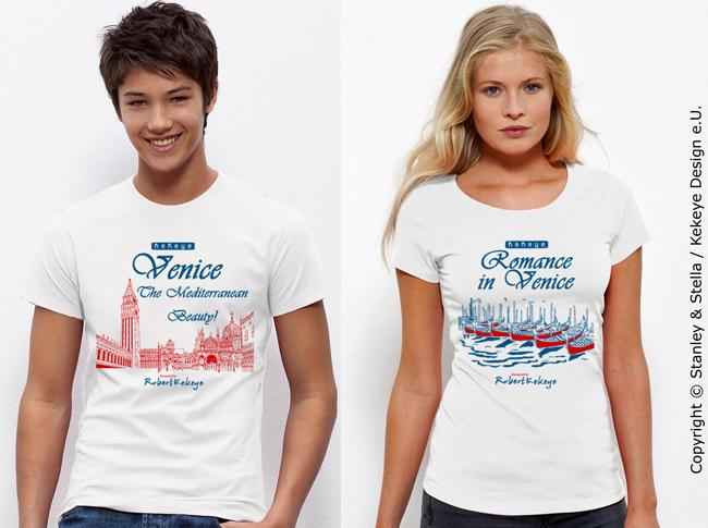 Venedig, Venice, Venezia Tshirt, Markusplatz / Foto © Kekeye Design e.U.