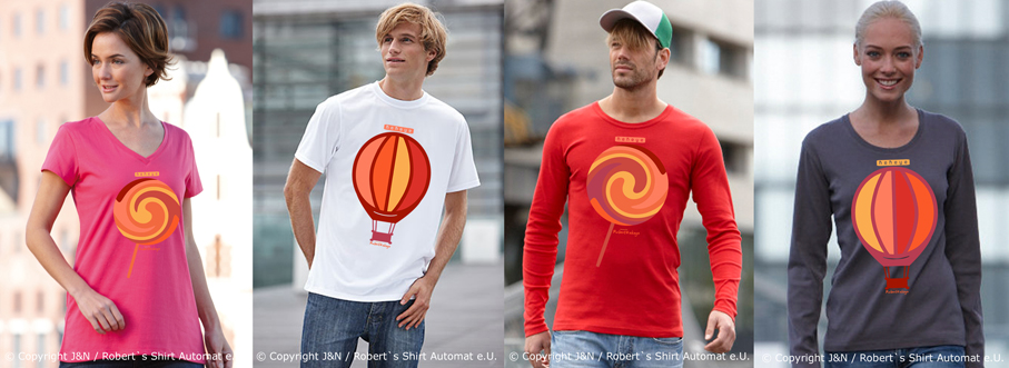 Lolly, Balloons T-shirts, Kekeye Design / Foto © J & N, Robert`s Shirt Automat e.U.