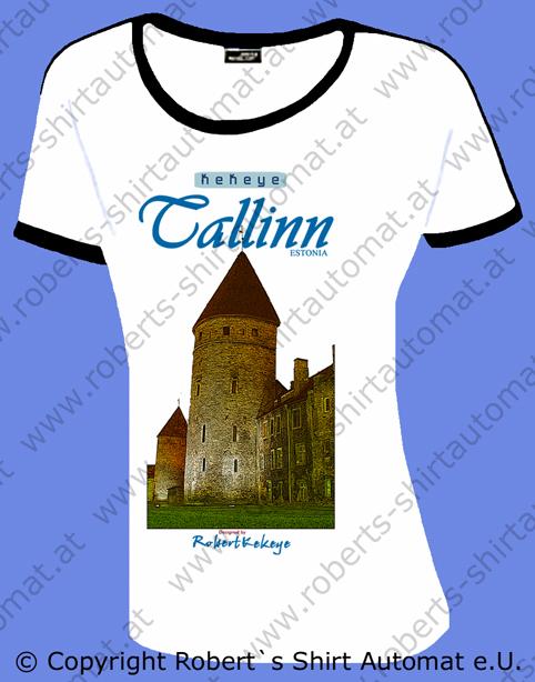 Tallinn, Reval Tshirts Estland Estonia, Kekeye Kollektion