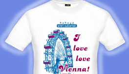 Vienna Tshirt Collection, visit and buy the nicest souvenir shirts in town!