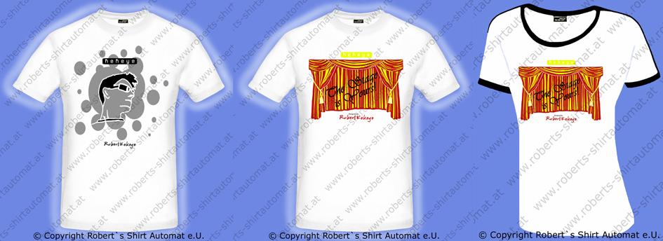 Tshirt Designer Sphere, Buehne - Stage, Kekeye Design