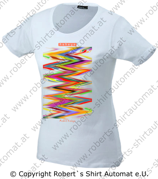 Color Your Life Damen T-Shirt / Foto © Robert`s Shirt Automat e.U.
