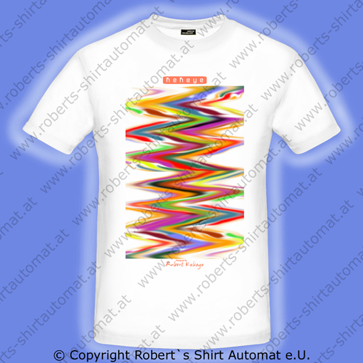 Color Your Life Herren T-Shirt / Foto © Robert`s Shirt Automat e.U.