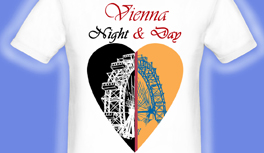 Wien - Vienna Night & Day T-Shirt Kollektion, designed by Kekeye!