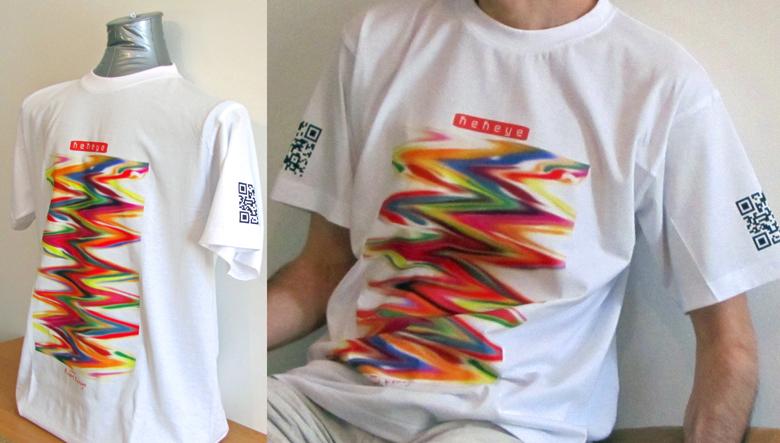 T-Shirt Foto-Shooting Color Magic, Kekeye Design / Foto © Robert`s Shirt Automat e.U.
