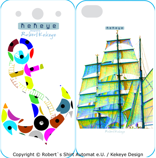 iPhone Case, Hülle in Kekeye Maritime Design / Photo © Kekeye Design