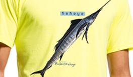 Schwertfisch, Walhai, Hecht & Zander T-Shirts für Angler und Fischer. Angeln in Design!