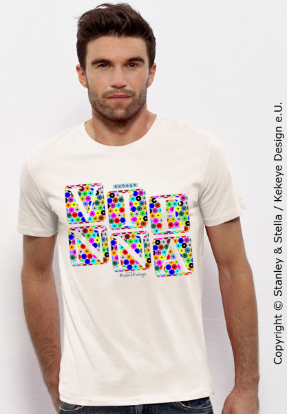 Vienna, Wien T-Shirts in Kekeye Dots Design, Wuerfel / Foto © Kekeye Design e.U.