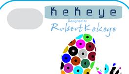 Die neue iPhone Hülle - Kekeye Dots Design mit Eidechse und Logo - einzigartig!