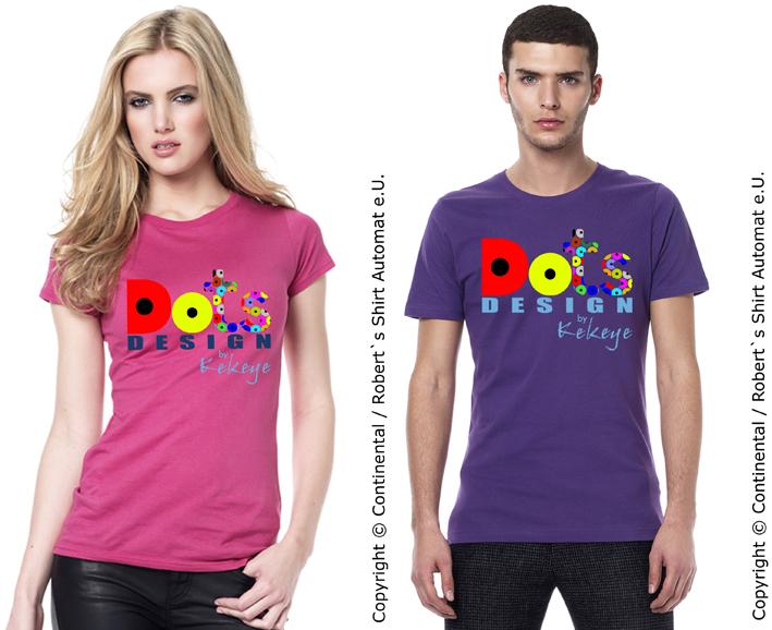 Dots Logo Tshirts / Foto © Kekeye Design, Robert`s Shirt Automat e.U.