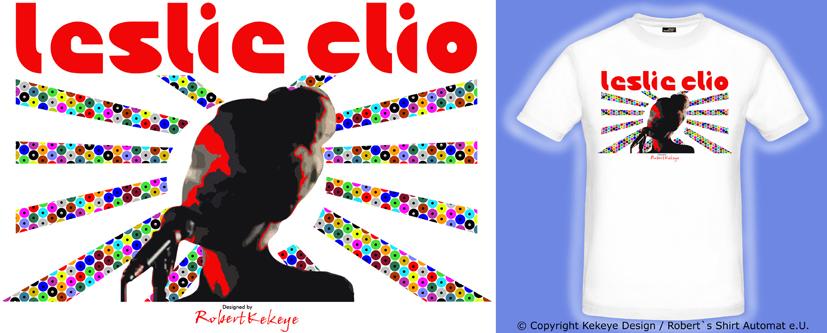 Leslie Clio Design T-Shirt Contest / Draft by © Kekeye Design, Robert`s Shirt Automat e.U.