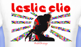 Leslie Clio Design T-Shirt Contest at Talenthouse! Kekeye Dots Design Glow & Leslie Portrait