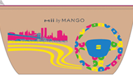 Design Contest! Seat Mii by MANGO, Make Up & Shoes Bag in Kekeye Dots Style