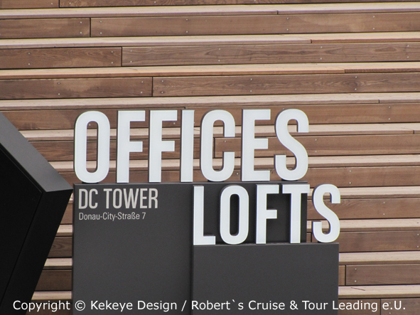 DC Tower Wien, Vienna, Offices and Lofts / Foto © Kekeye Design / Robert`s Cruise & Tour Leading e.U.