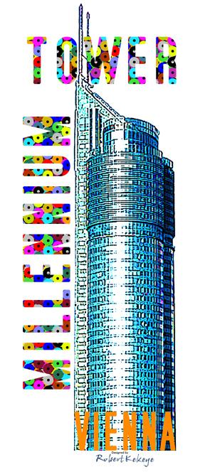 Kekeye Design Motiv zum 15. Jubiläum von Millennium City / Foto © Kekeye Design, Robert`s Shirt Automat e.U.