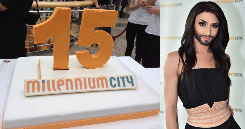15-Jahresfeier Millennium Tower mit Conchita Wurst / Foto © Millennium Tower Verwaltungs- und Service Ges.m.b.H.