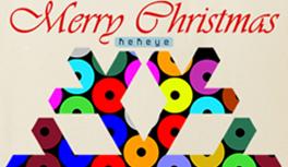 Weihnachten & Geschenke - Einkaufstasche Baum, Renntier, Schneeflocke