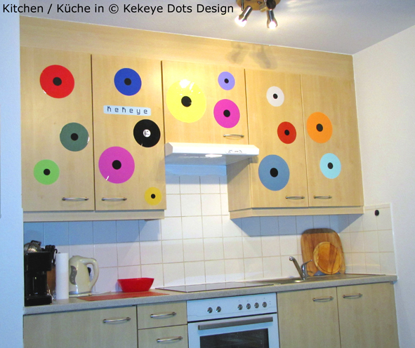 Kueche / Kitchen in Kekeye Dots Design / © Kekeye Design