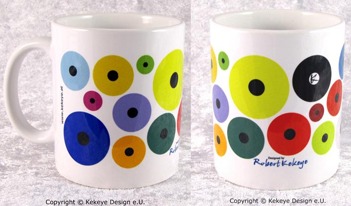 Tasse, Mug in Kekeye Dots Design / Foto © Kekeye Design e.U.