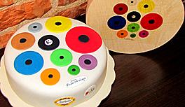 Die exklusive Zuckero Schokoladentorte in Kekeye Dots Design im WebShop!