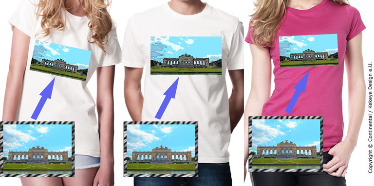 Dein Foto auf dem T-Shirt - Your Photo on a T-shirt. Design Geschenk / Present