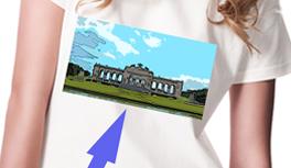 Dein Foto auf dem Bio T-Shirt – Your Photo on a Bio T-shirt. Design Geschenk / Present