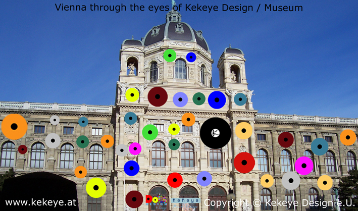 Museum Wien, Vienna in Dots Design / Photo © Kekeye Design e.U.