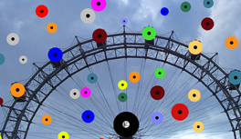 Wien, Vienna City through the eyes of Kekeye Design - Dots everywhere