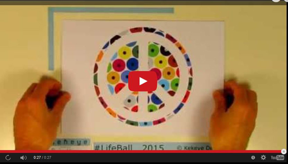 Kekeye Video in Dots Design for the Life Ball 2015 in Vienna! Please Vote & Share
