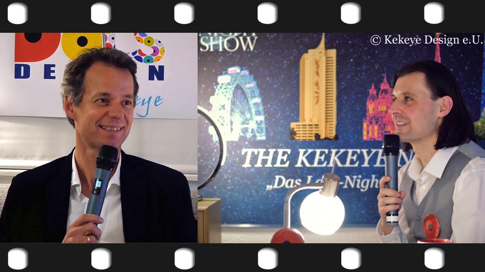 THE KEKEYE NIGHT SHOW - Sendung 1 - Miller Büro und Schreibkultur Wien Mai/2017