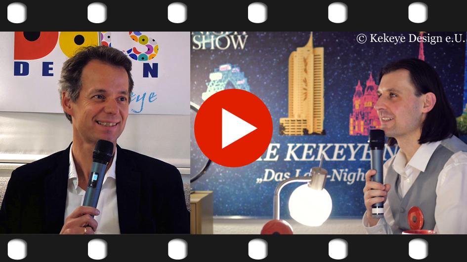 THE KEKEYE NIGHT SHOW - Sendung 1 - Miller Büro und Schreibkultur Wien Mai/2017 / Photo © Kekeye Design