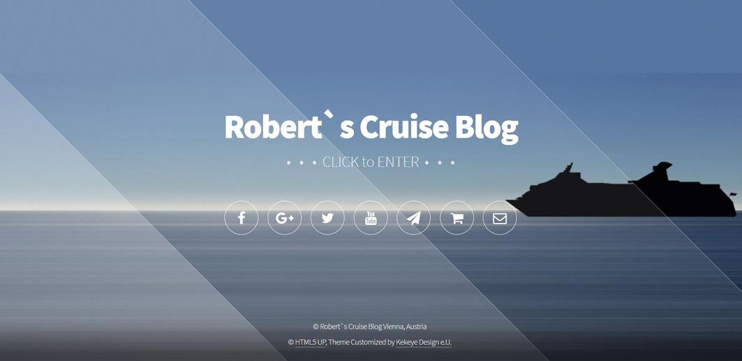 Landing Page als Tor zum Kreuzfahrten - Blog
